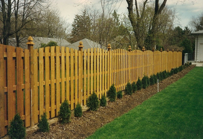 residential outdoor fencing