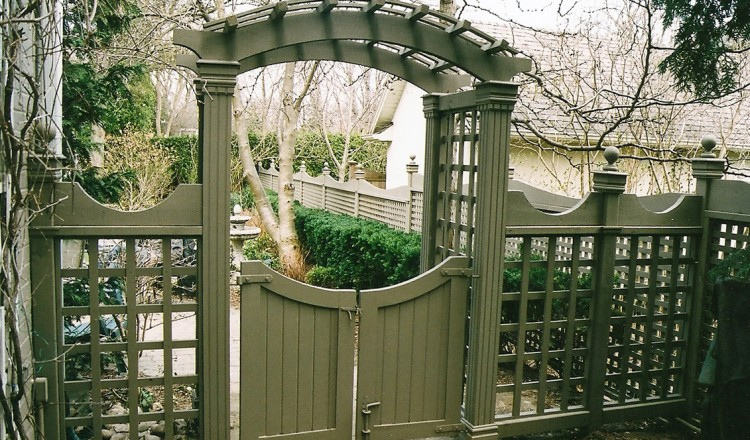 residential fence gates