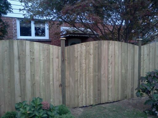 residential boundary fences