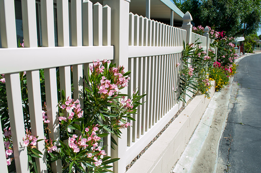 Vinyl Fencing on Older home