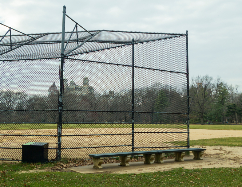 Chain Link Fencing For Baseball And Softball Fields