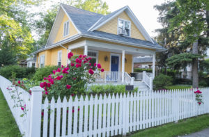 types of picket fencing
