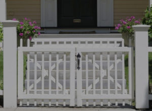 Residential Picket fence