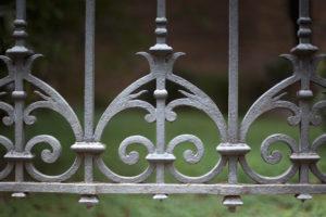 Ornamental Iron Fence